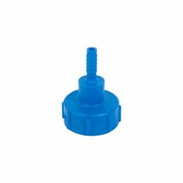"IBC adapter S60x6 Female x 1/2"" hose tail"
