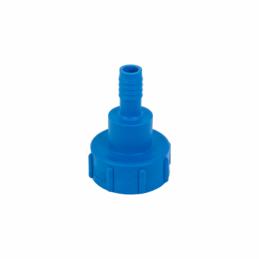 "IBC adapter S60x6 Female x 3/4"" hose tail"