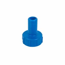 "IBC adapter S60X6 Female x 11/4"" hose tail"