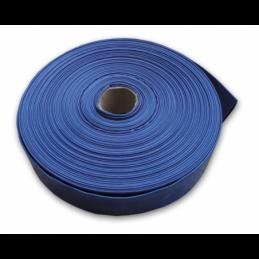 "Flat hose AGRO-FLAT 2BAR 4"" / 100m (blue)"