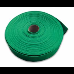 "Flat hose AGRO-FLAT 3BAR 4"" / 50m (green)"