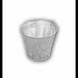 Zinc plated bucket 7L