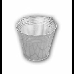 Zinc plated bucket 10L