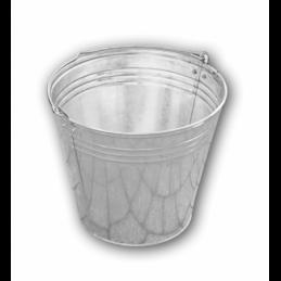 Zinc plated bucket 12L