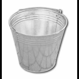 Zinc plated bucket 15L