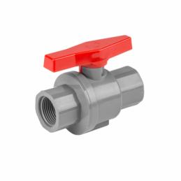 "PN10 PVC combined valve 3/4"" female / 3/4"" female"
