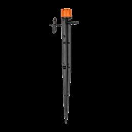 Adjustable stream sprinkler 0-70l/h
