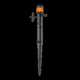 Adjustable stream sprinkler 0-80l/h