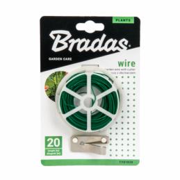 Garden wire with cutter - 20m