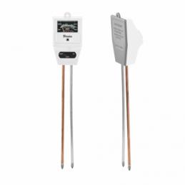 WHITE LINE 3 function garden meter - SQUARE