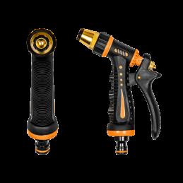 BLACK LINE Adjustable spray gun ZEBRA brass-zinc