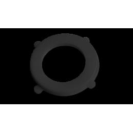 """BLACK LINE gasket for 1"""" BLACK - 50 pcs"""