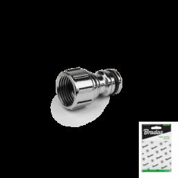"1/2"" female tap adapter ZINC-CHROME - Display bag"