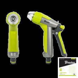 LIME LINE Adjustable straight spray gun - metal