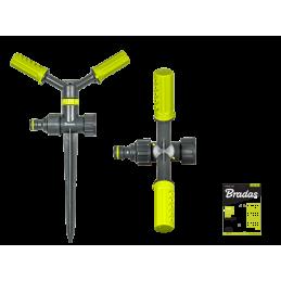 LIME LINE 2-arm rotating sprinkler on spike