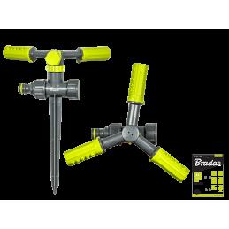 LIME LINE 3-arm rotating sprinkler on spike