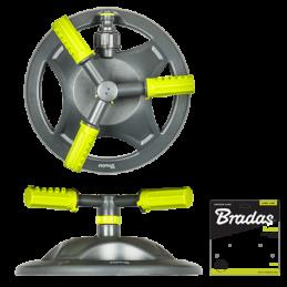 LIME LINE 3-arm rotating sprinkler on base