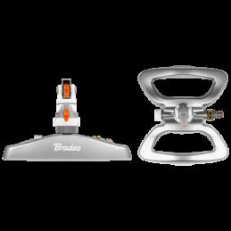 WHITE LINE 4 - pattern gear drive sprinkler on metal base