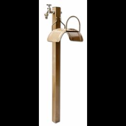 Stationary set - tap with hose hanger