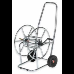 "Hose reel cart 3/4"" 80m SOLID ZINC-CHROM"