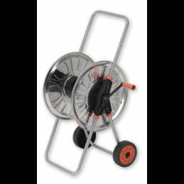 "Hose reel cart 1/2"" 80m CARINOX - stainless steel"