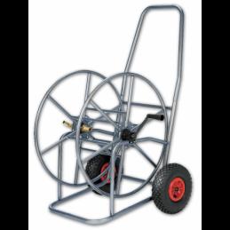 """Hose reel cart  3/4"""" 110m PRINOX - stainless steel"""