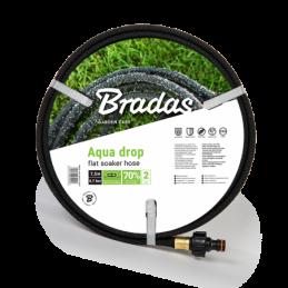 "Watering hose AQUA-DROP FLAT 1/2"" - 7"