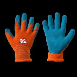 Gloves ORANGE latex