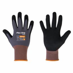 Gloves FLAX GRIP SANDY nitrile