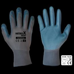 Gloves NITROX GRAY nitrile