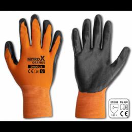 Gloves NITROX ORANGE NITRILE