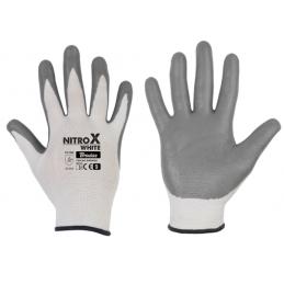 Gloves NITROX WHITE nitrile