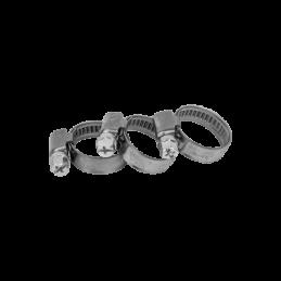 Stainless zebra hose clamp W4 BRADAS 10-16mm