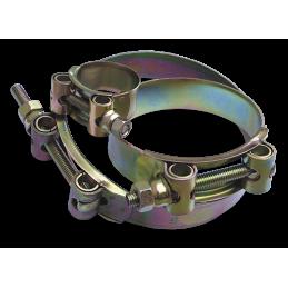 GBS hose clamp W1 140-148/26mm - YELLOW