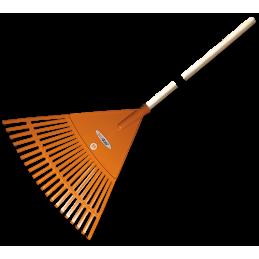 20-tine leaf rake