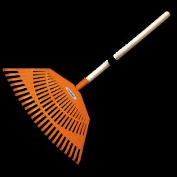 23-tine rake leaf