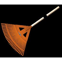 27-tine leaf rake