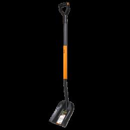 Shovel with hardened head made of boron steel