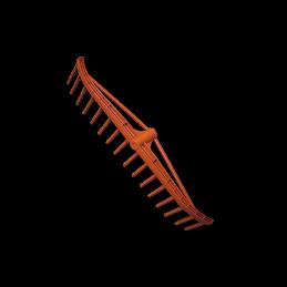 Traditional PVC 16-tine rake