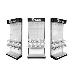 Metal display stand + display boxes