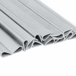 Clips for 450g screen strips - light grey